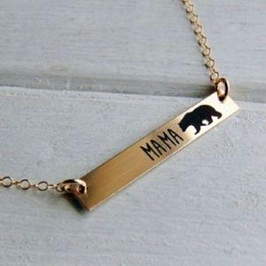 Jewelry - Mama Bear Bar Necklace